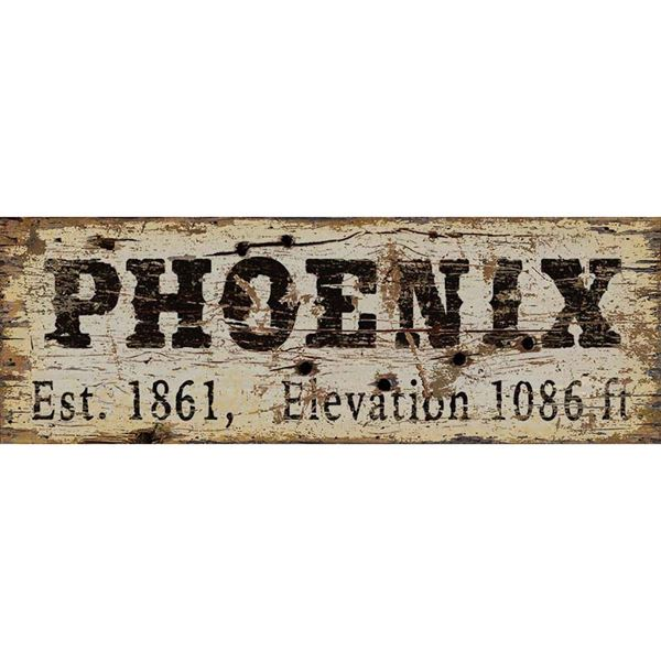 Picture of Phoenix Vintage Sign