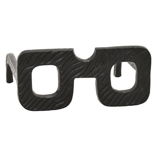 Picture of Square Black Glasses Sculpture