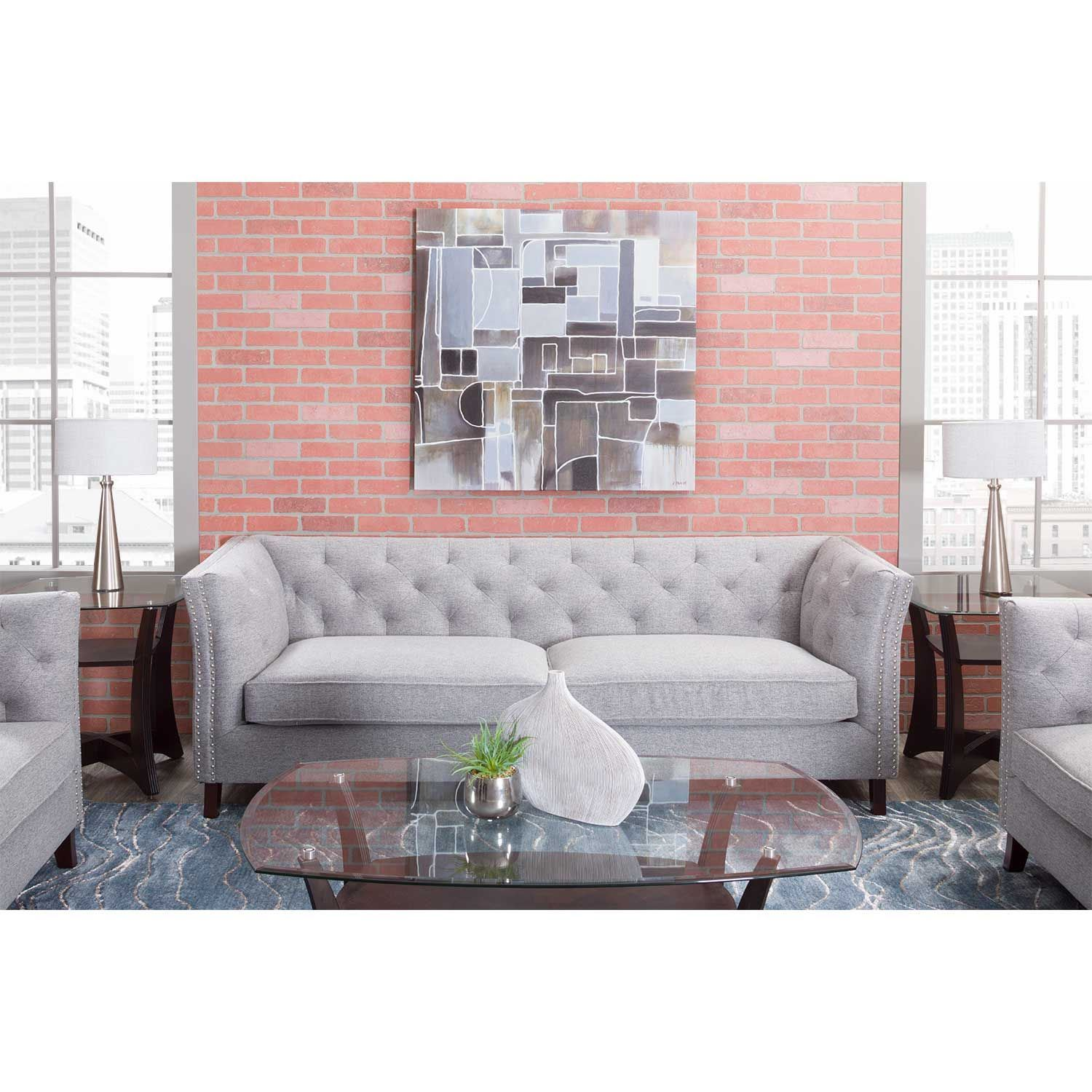 Picture of Bethany Tufted Ottoman