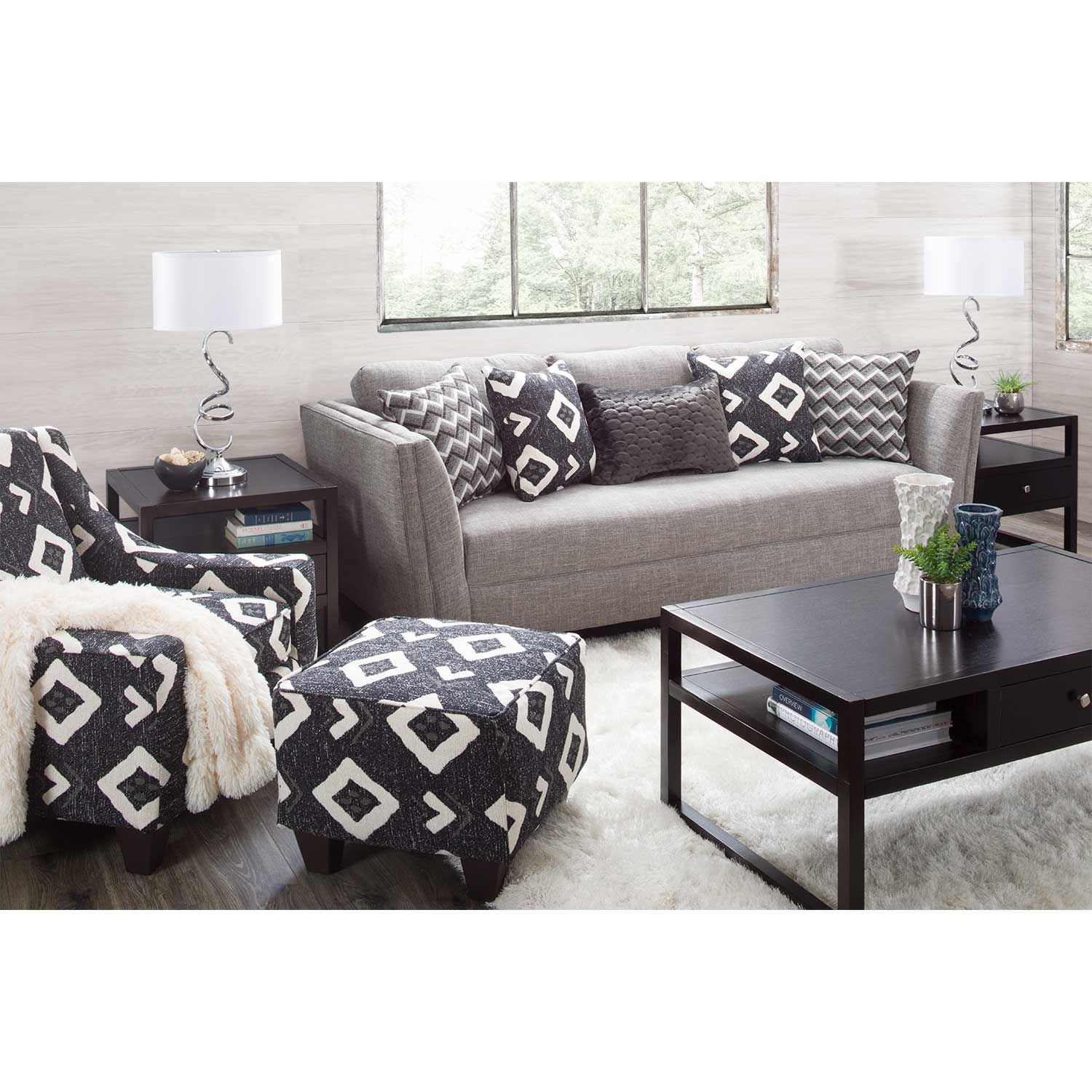 Picture of Amelia Accent Ottoman