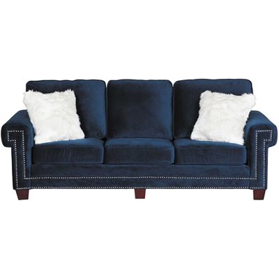 Picture of Ascot Navy Sofa