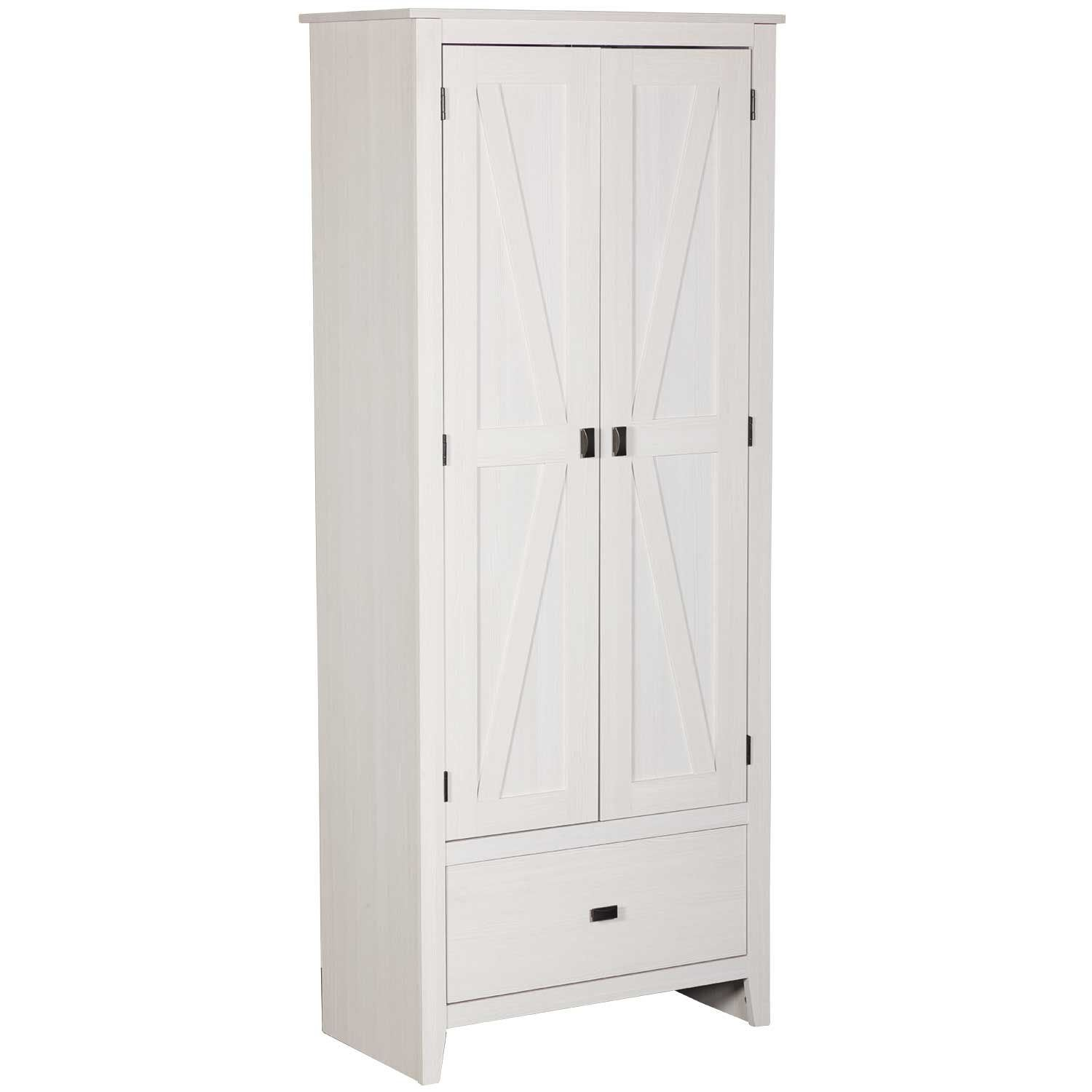 Excellent Farmington 30 Inch White Storage Cabinet Interior Design Ideas Ghosoteloinfo