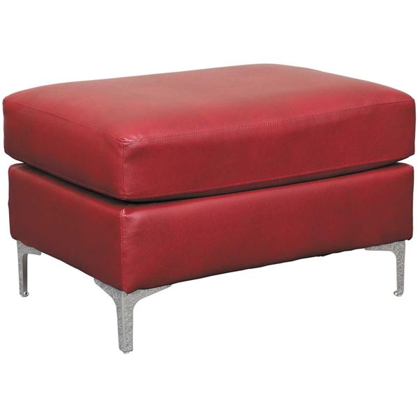 Picture of Tensas Crimson Ottoman