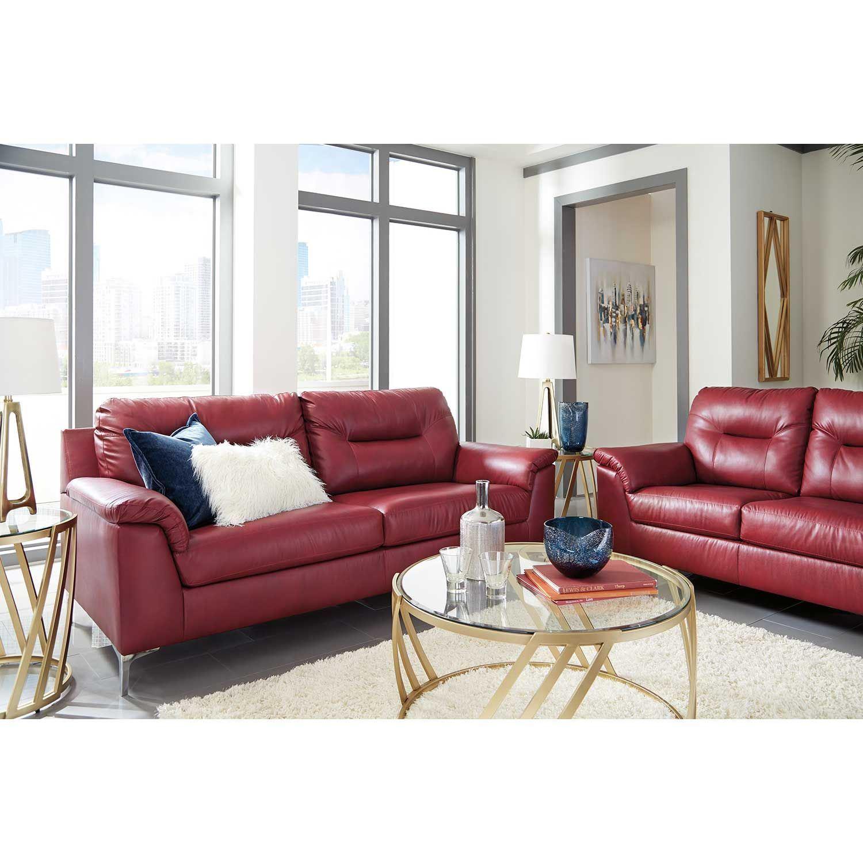 Picture of Tensas Crimson Sofa