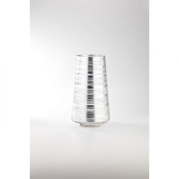 Picture of Silver Tall Glass Vase