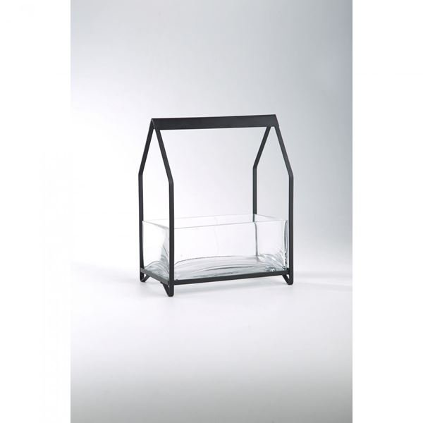 Picture of Glass Metal Candle Holder