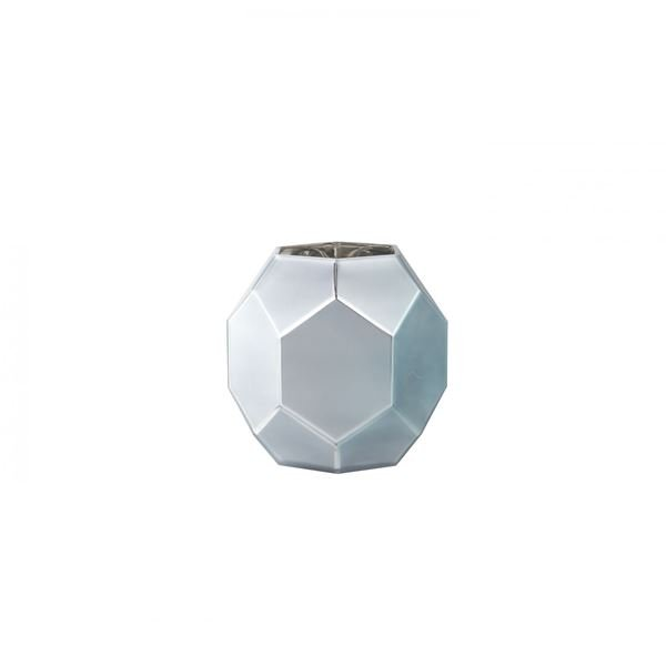 Picture of Gray Glass Round  Vase