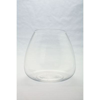 Picture of Clear Glass Round Candleholder