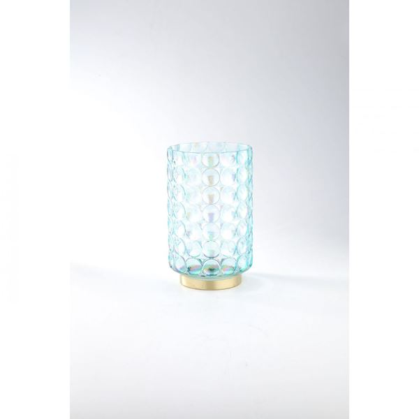 Picture of Silver Glass Pattern Vase