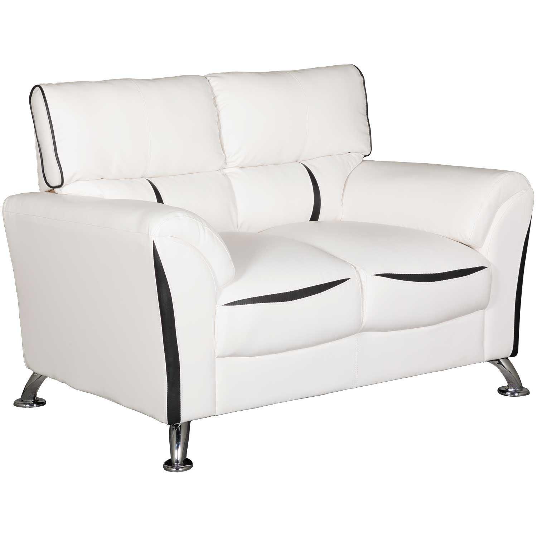 Surprising Tux White Loveseat Customarchery Wood Chair Design Ideas Customarcherynet