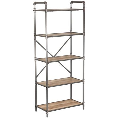 Picture of Hartford Industrial 5 Shelf Display Case