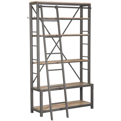 Picture of Hartford Industrial Six Shelf Bookcase