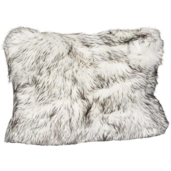 Picture of 15x20 Black Bear Faux Fur Pillow