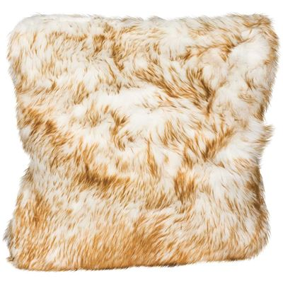 Picture of 20x20 Brown Bear Faux Fur Pillow