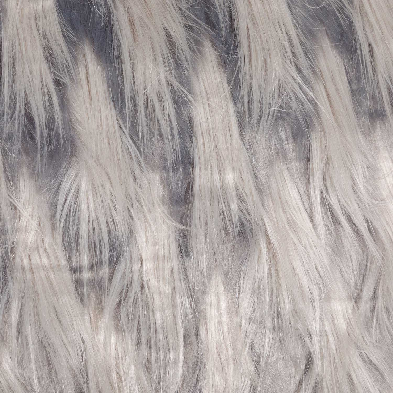 Picture of 20x20 Zazu Gray Faux Fur Decorative Pillow