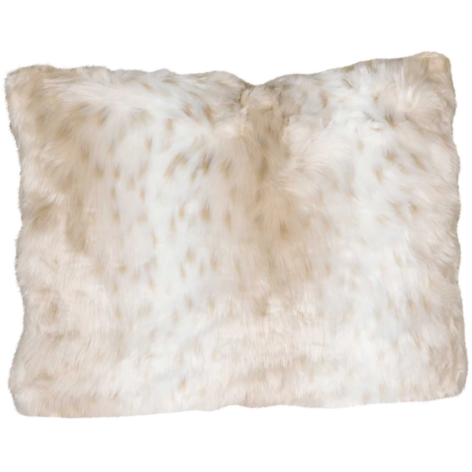 15x20 Aslan Faux Fur Decorative Pillow
