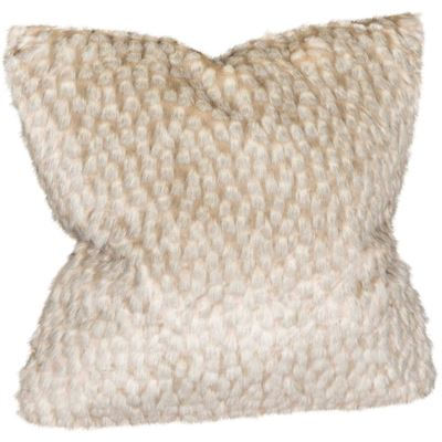 Picture of 20x20 Zambia Gray Faux Fur Pillow