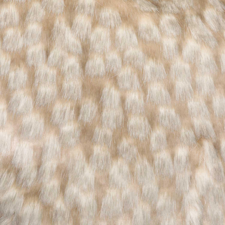 Picture of 20x20 Zambia Gray Faux Fur Decorative Pillow