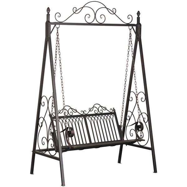 Picture of Black Swing Bench