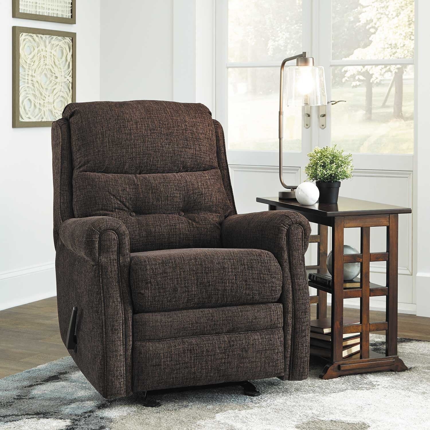 Picture of Penzberg Brown Glider Recliner