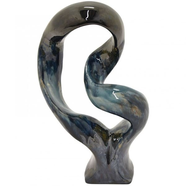 Picture of Charcoal Blue Sculpture