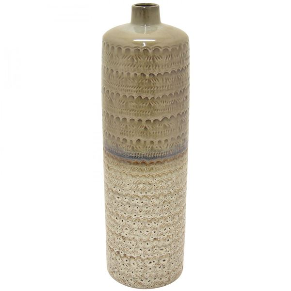 Picture of Two-Tone Neutral Vase