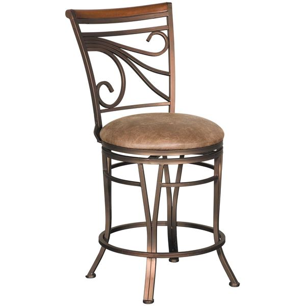 """Picture of GlowII 24"""" Armless Swivel Barstool"""