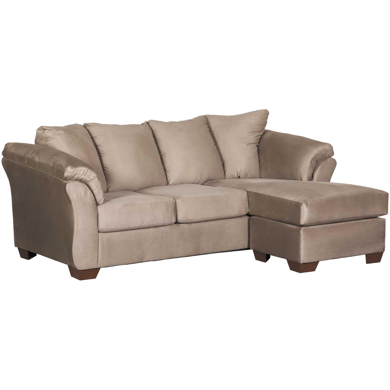 Pleasant Cobblestone Gray Reversible Sofa Chaise Inzonedesignstudio Interior Chair Design Inzonedesignstudiocom