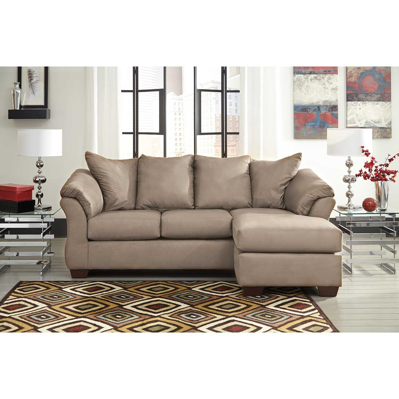 Picture of Cobblestone Gray Reversible Sofa Chaise