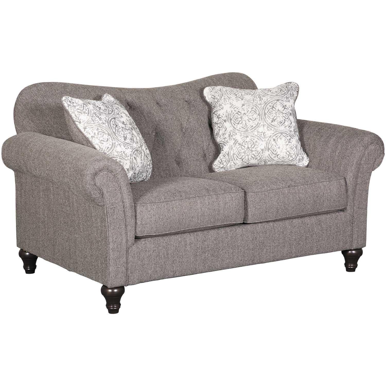 Admirable Praylor Slate Loveseat Machost Co Dining Chair Design Ideas Machostcouk