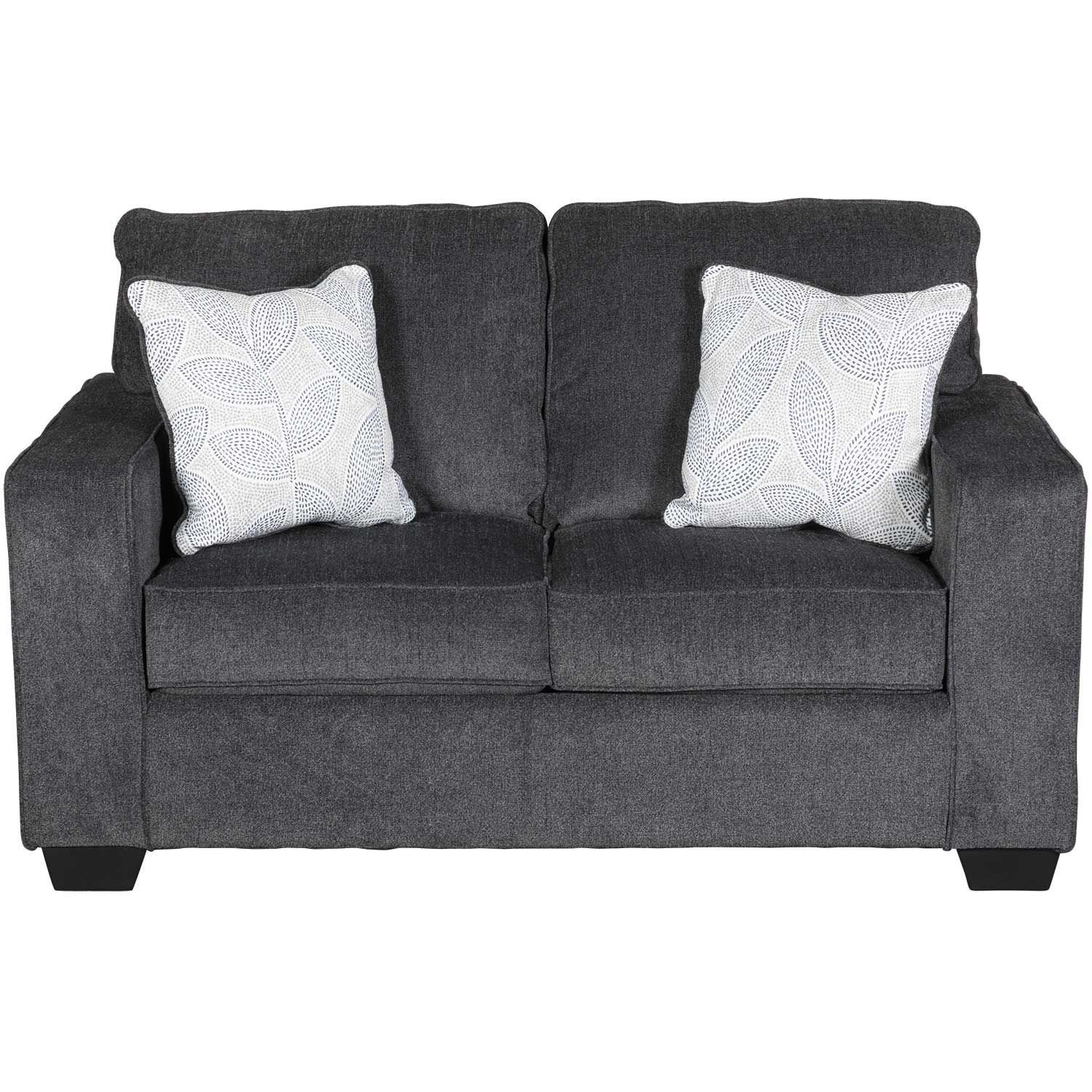 Admirable Altari Slate Loveseat Beutiful Home Inspiration Cosmmahrainfo