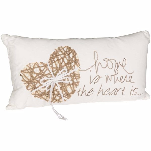 Picture of 11x21 Home & Heart Decorative Pillow