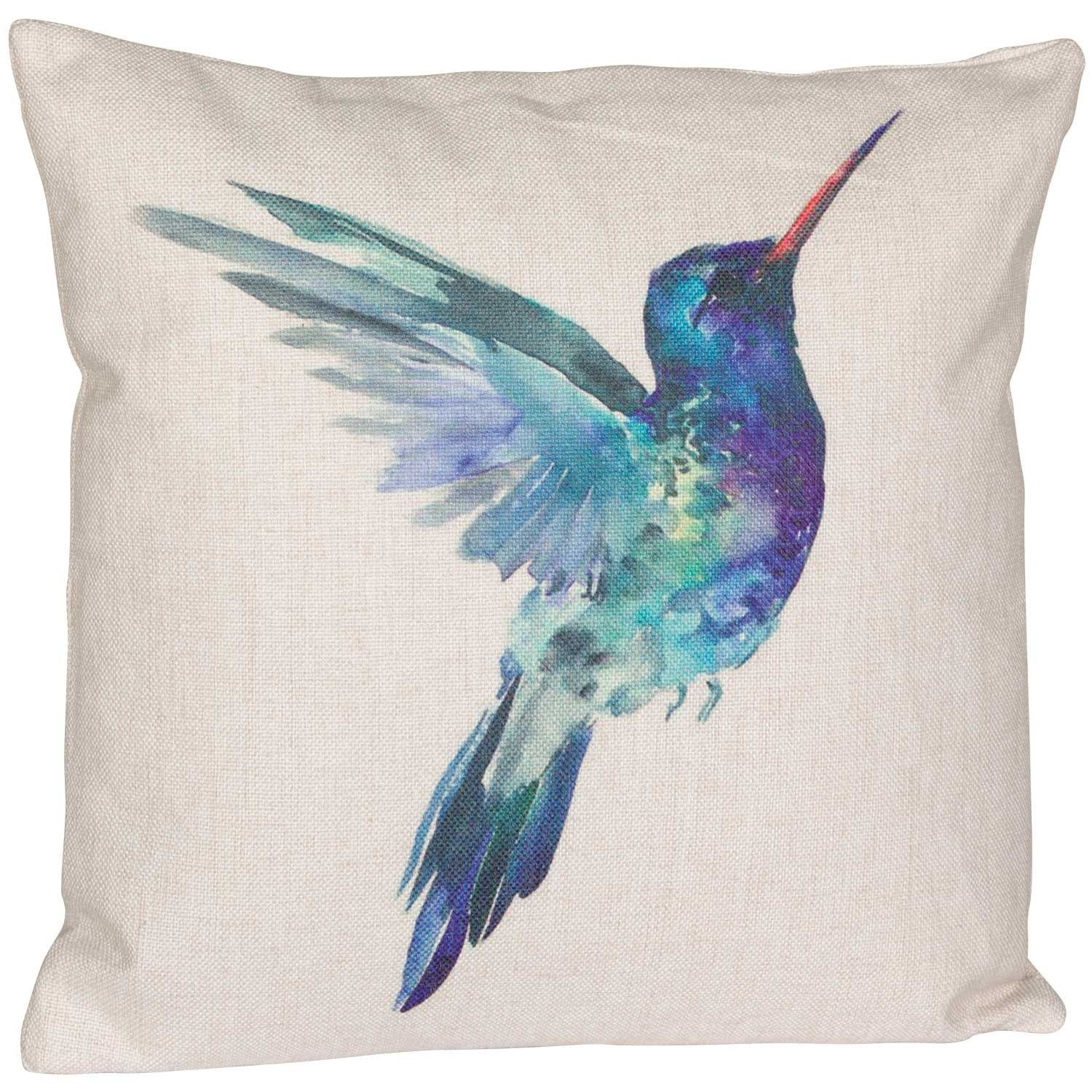 Picture of Hummingbird 18 Inch Decorative Pillow *P