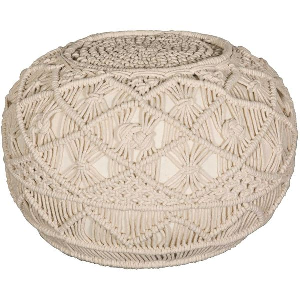 Picture of Kosala Pouf in Natural Linen