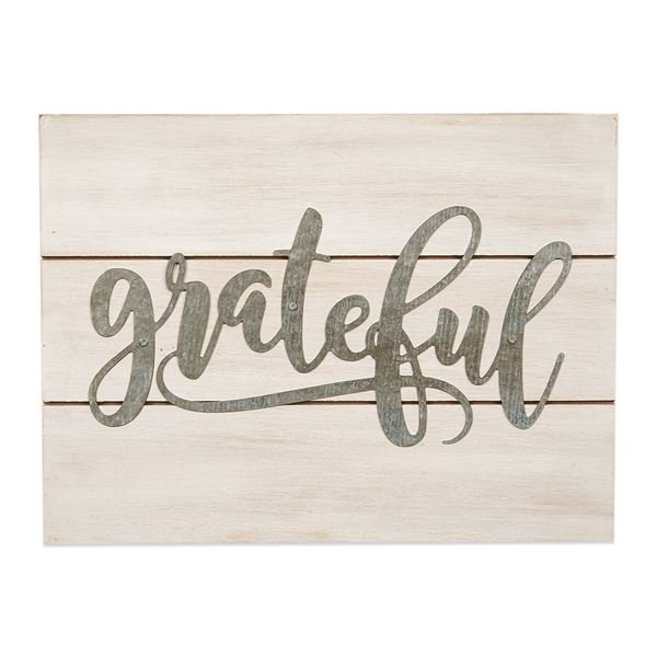 Picture of Grateful Sign