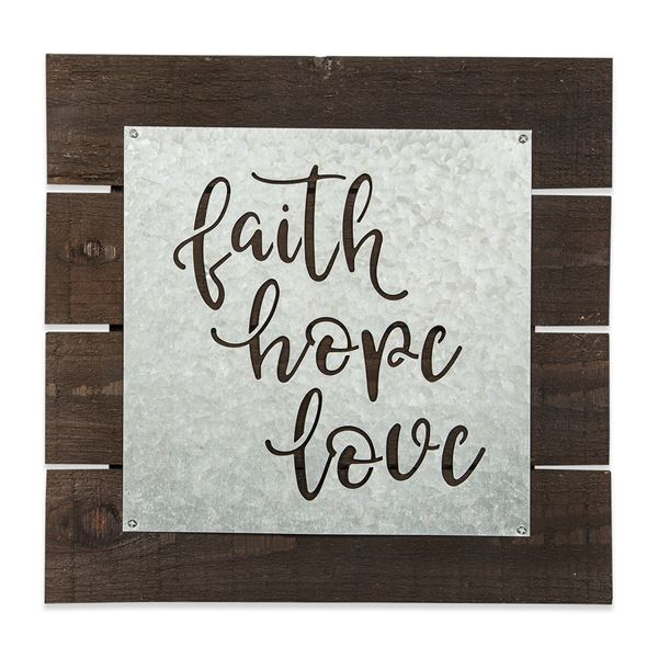 Picture of Faith Hope Love Sign