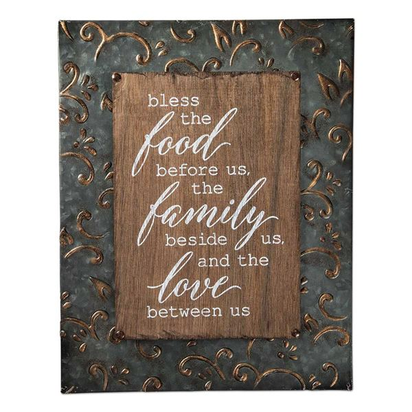 Picture of Bless The Food Sign