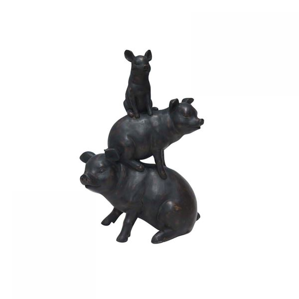 Picture of Stacking Pigs Sculpture