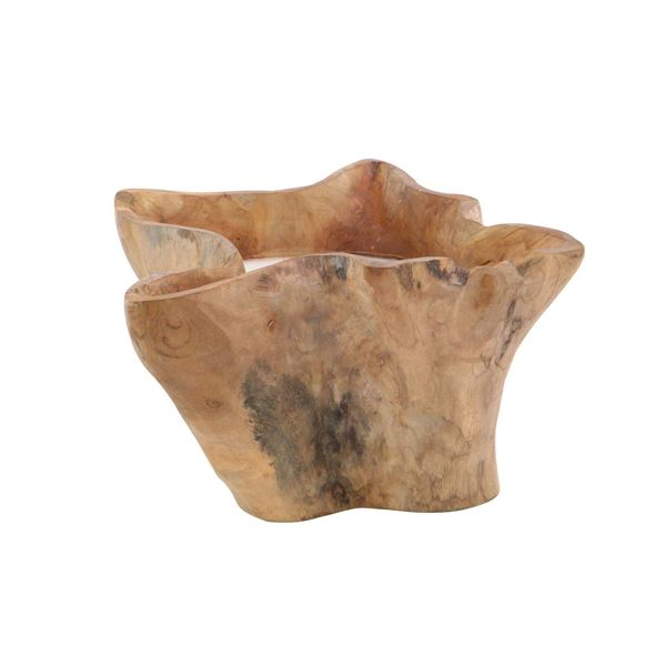 Picture of Teak Candle Pot