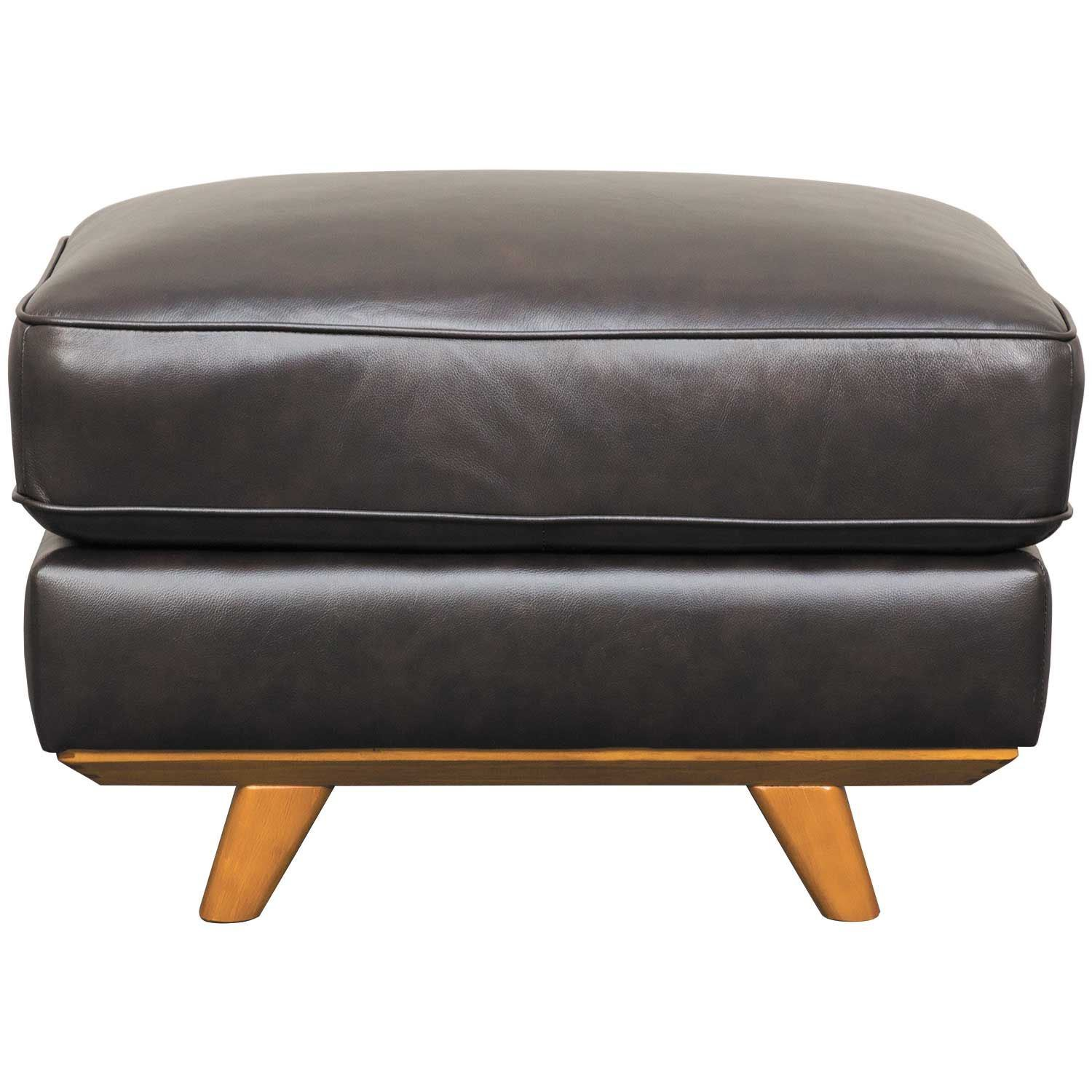 Excellent Carrington Leather Ottoman As 6902Br Dbrn 4 Abbyson Squirreltailoven Fun Painted Chair Ideas Images Squirreltailovenorg