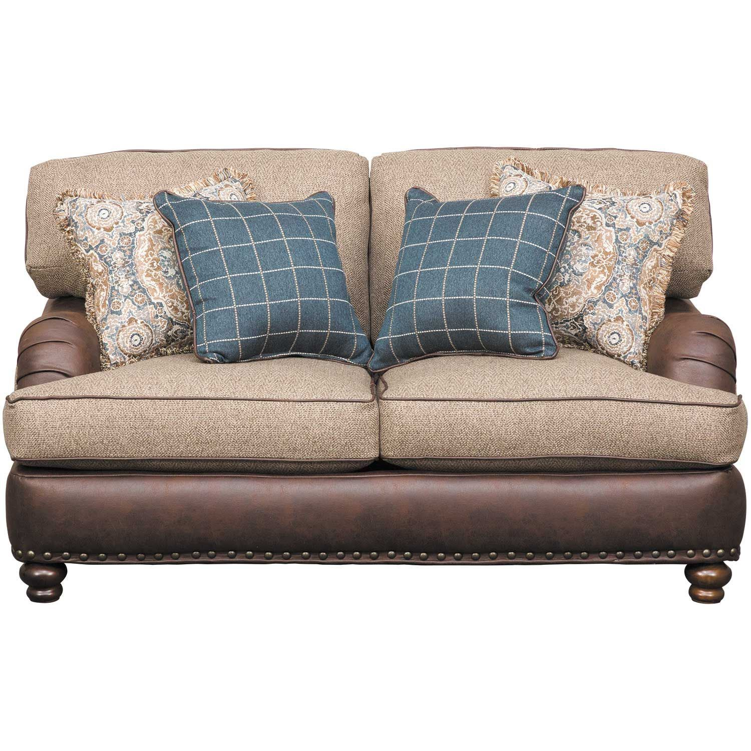 Brewhouse Loveseat 2002 Corinthian Furniture Afw Com