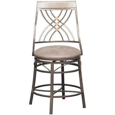 "Picture of 24"" Fully Welded Swivel Barstool"