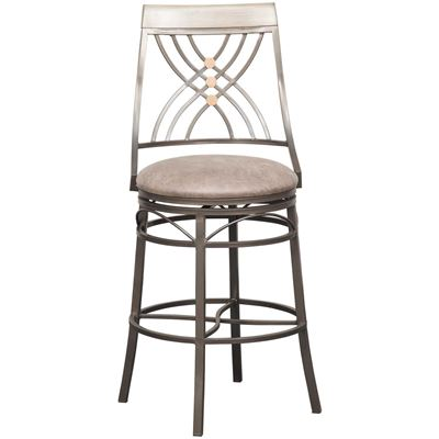 "Picture of 30"" Fully Welded Swivel Barstool"