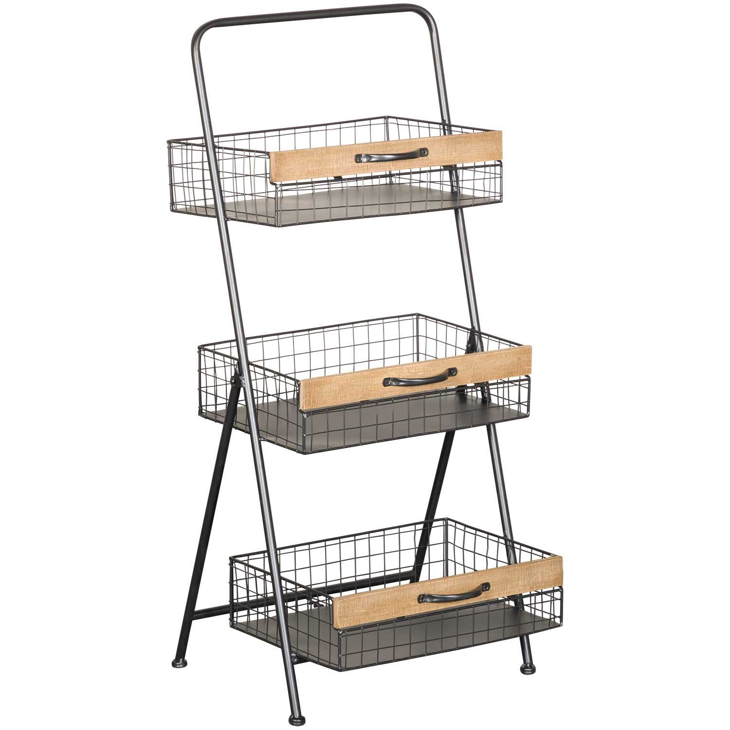 Picture of Three Tier Metal Wire Rack