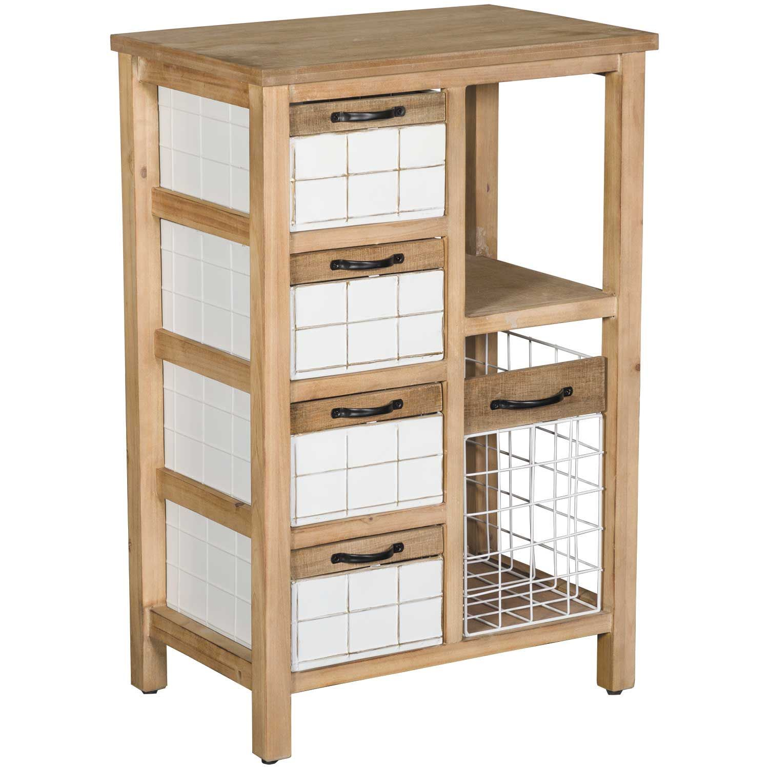 Picture of Five Drawer Storage Cabinet
