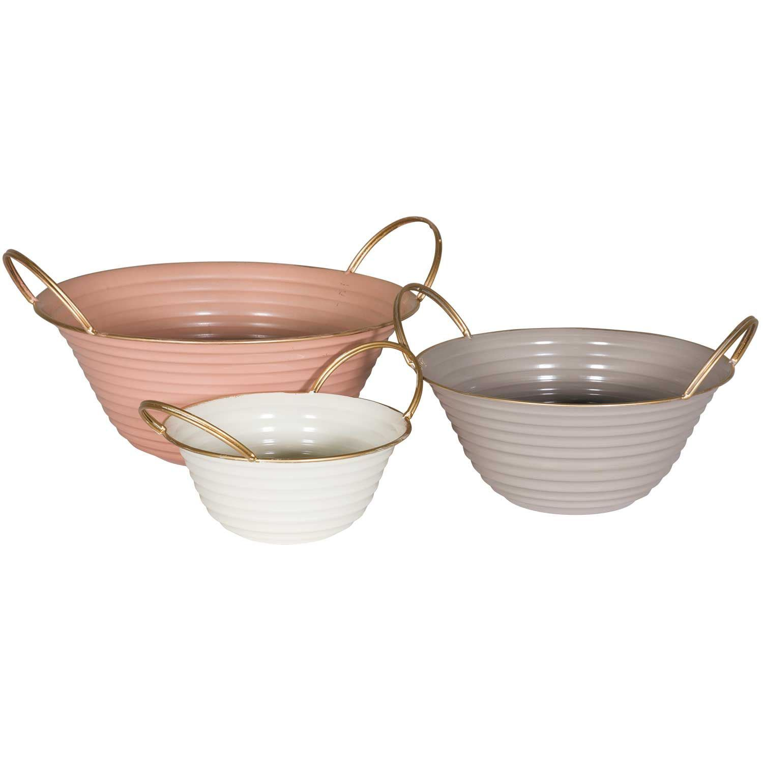 Picture of Set of Three Iron Bowls