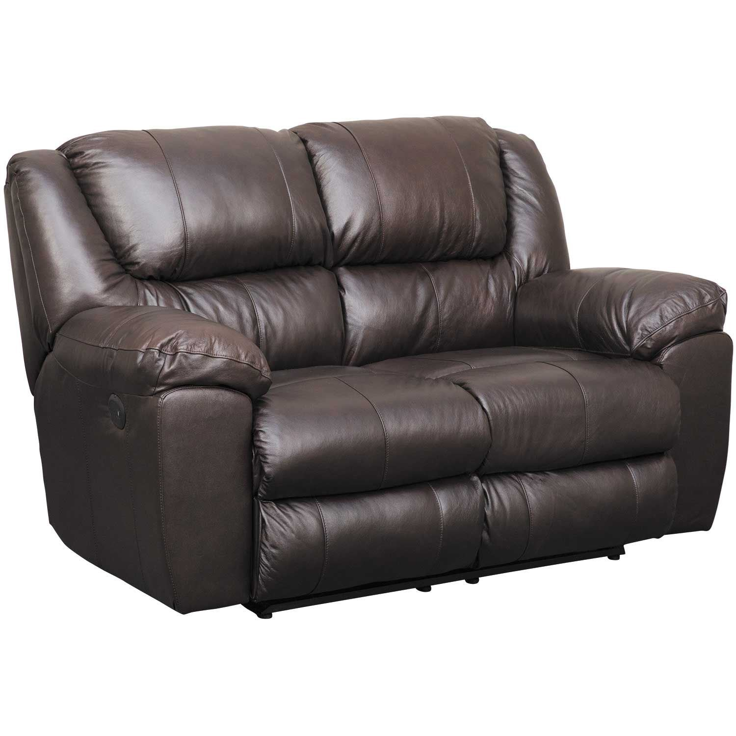 Italian Leather Rocking Reclining Loveseat 4912 2