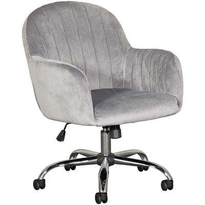 Picture of Office Chair Velvet, Grey