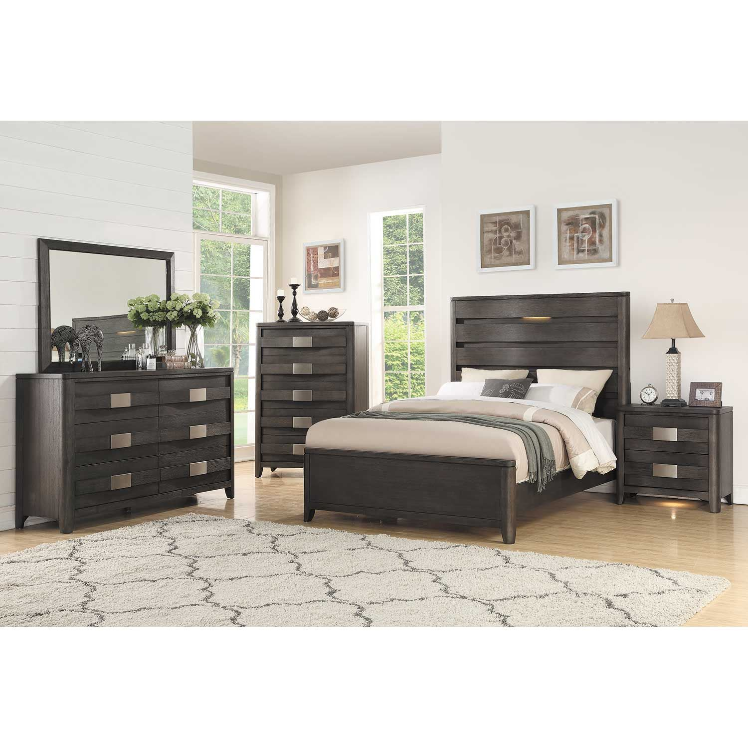 Contour 5 Piece Bedroom Set