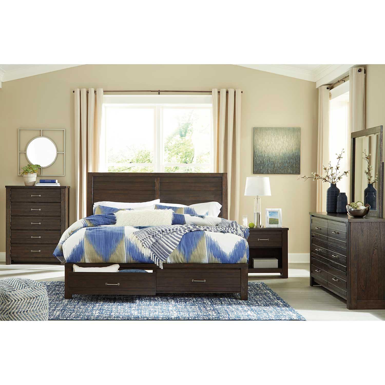 Darbry Queen Storage Bed | B574-196 54S 57 | Ashley Furniture | AFW.com